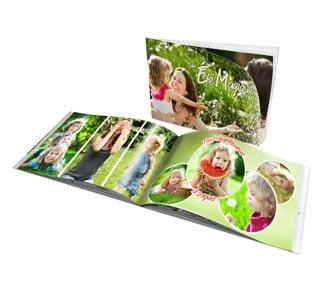 Exemple de livre photo à personnaliser trouvé sur www.photocite.fr