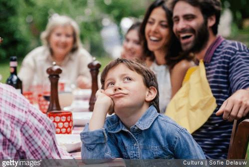 Comment occuper les enfants lors d'un repas de famille ?