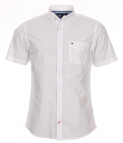 chemise droite tommy hilfiger